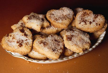 Mantecados Traditional Spanish Crumble Cakes