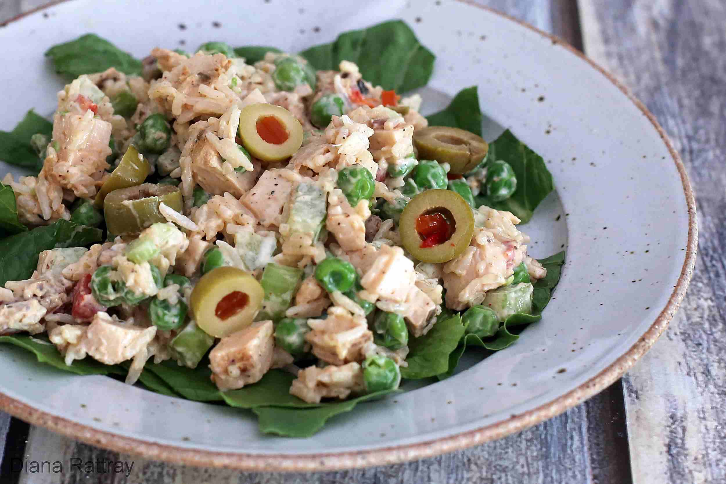 Chicken and Rice Salad