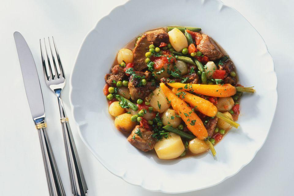 Lamb Stew with Parsley Dumplings