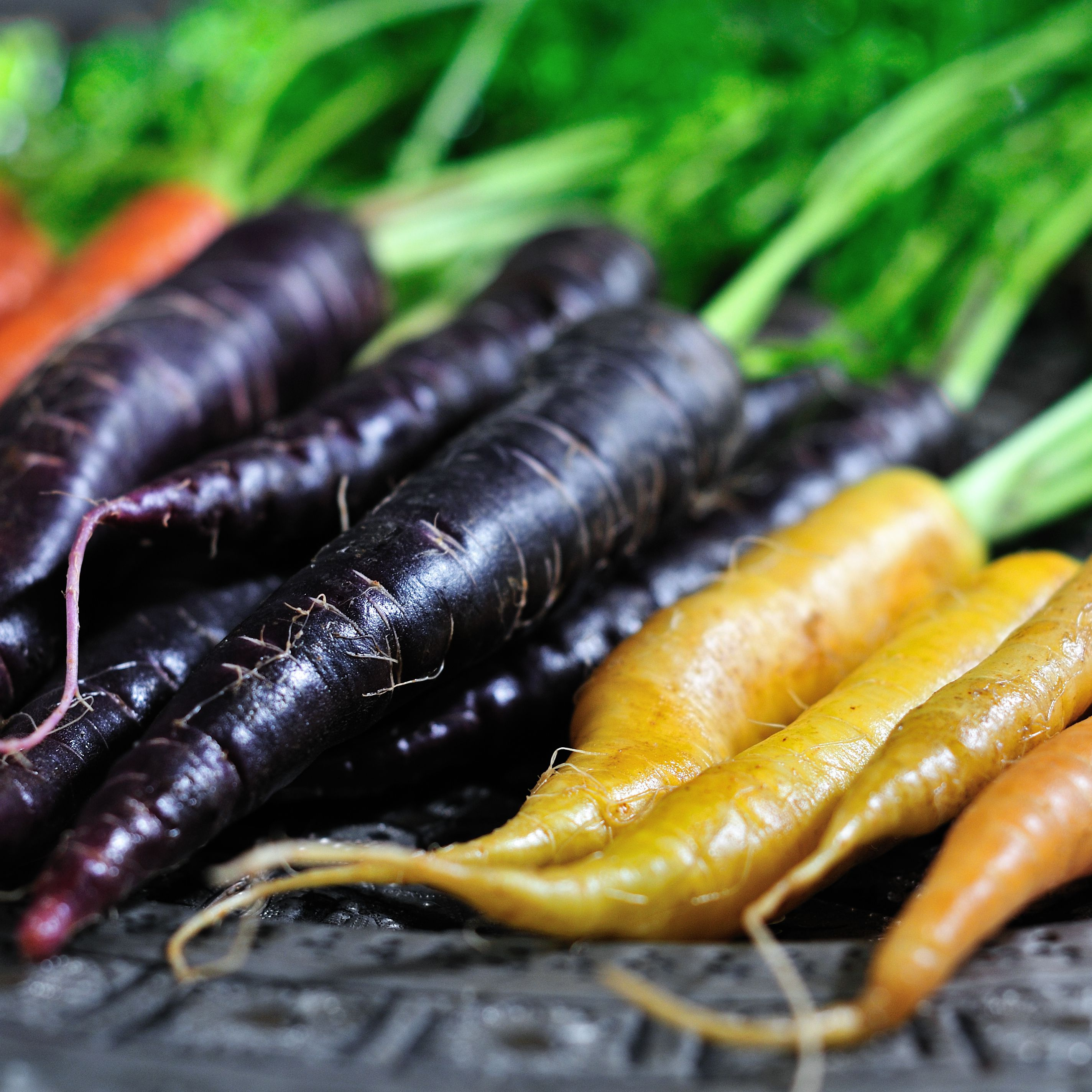 Find Out What Diffe Colored Carrots Taste Like