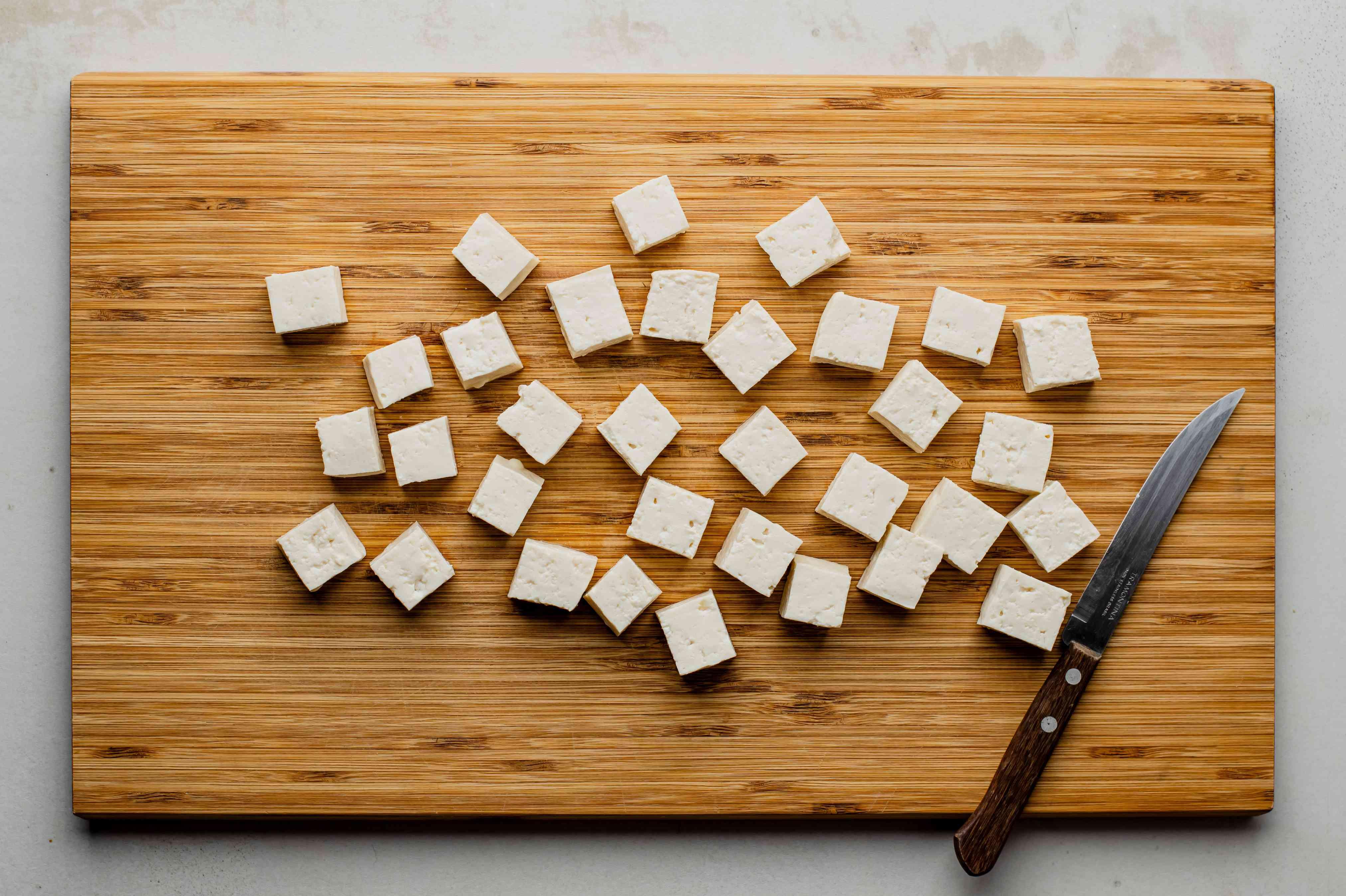 Drain tofu