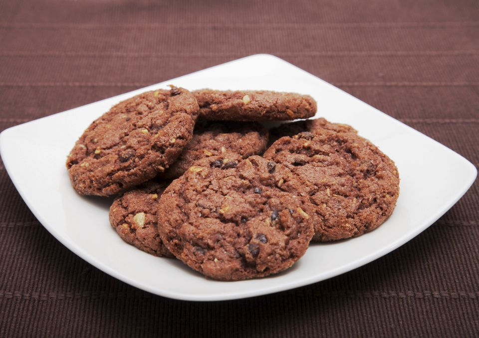 Double chocolate chunk vegan cookies!