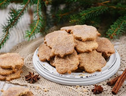 Anise and cinnamon sugar cookies (bizcochitos) Recipe