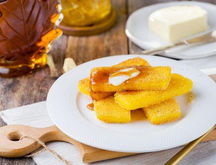 Southern fried cornmeal mush