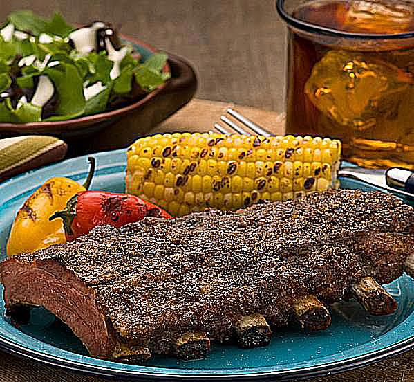 Texas Style Baby Back Pork Ribs