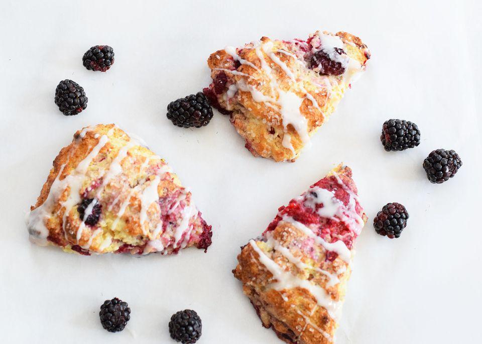 Sweet Berry Scones