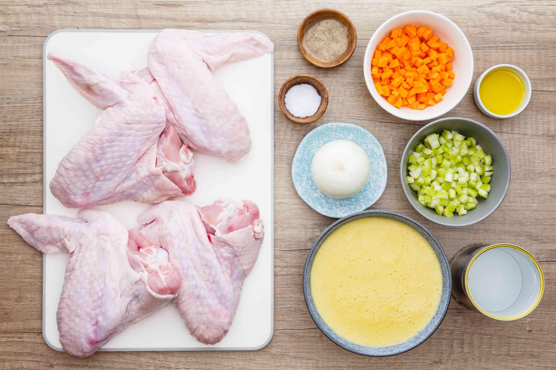 Ingredients for crock pot turkey wings