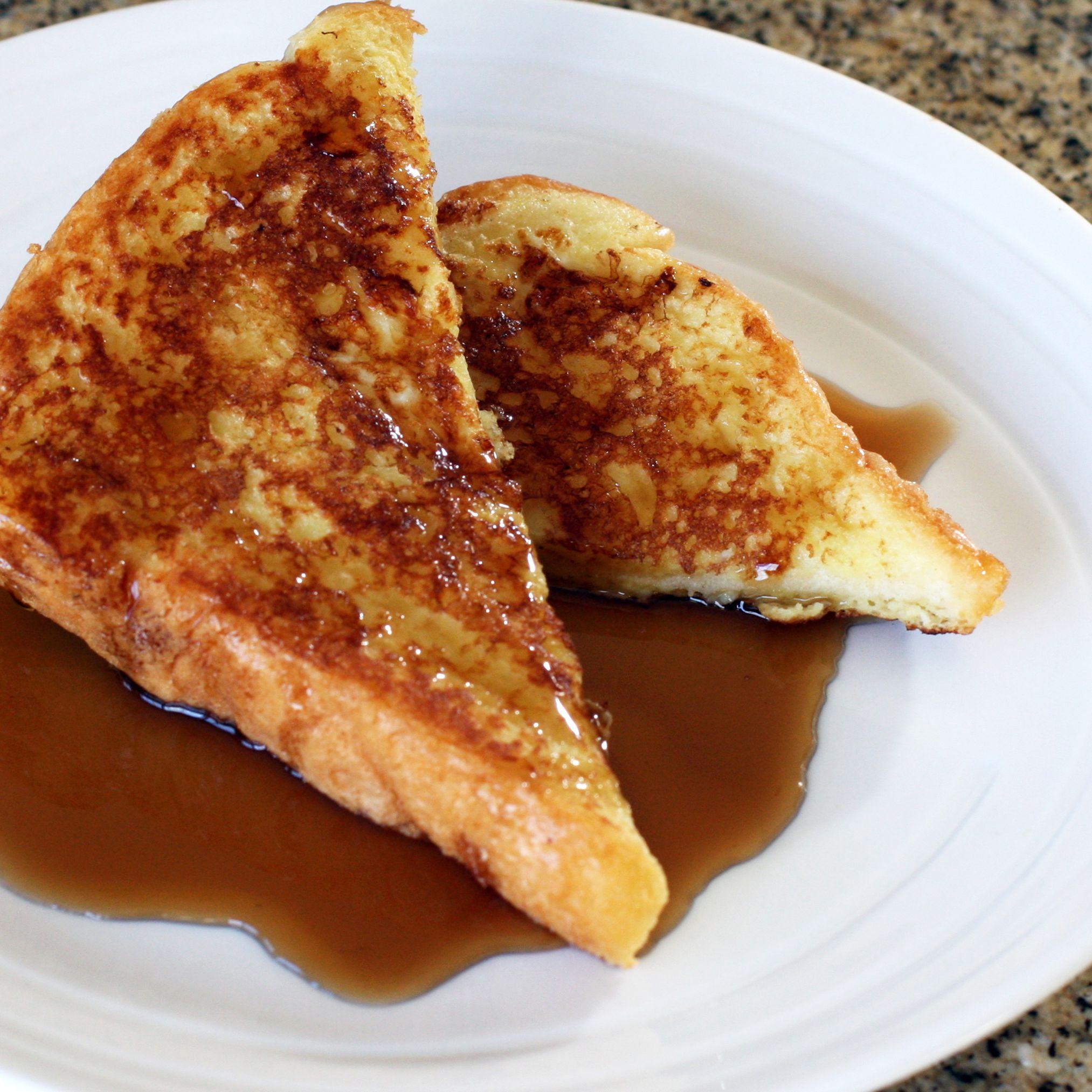 French Toast With Vanilla
