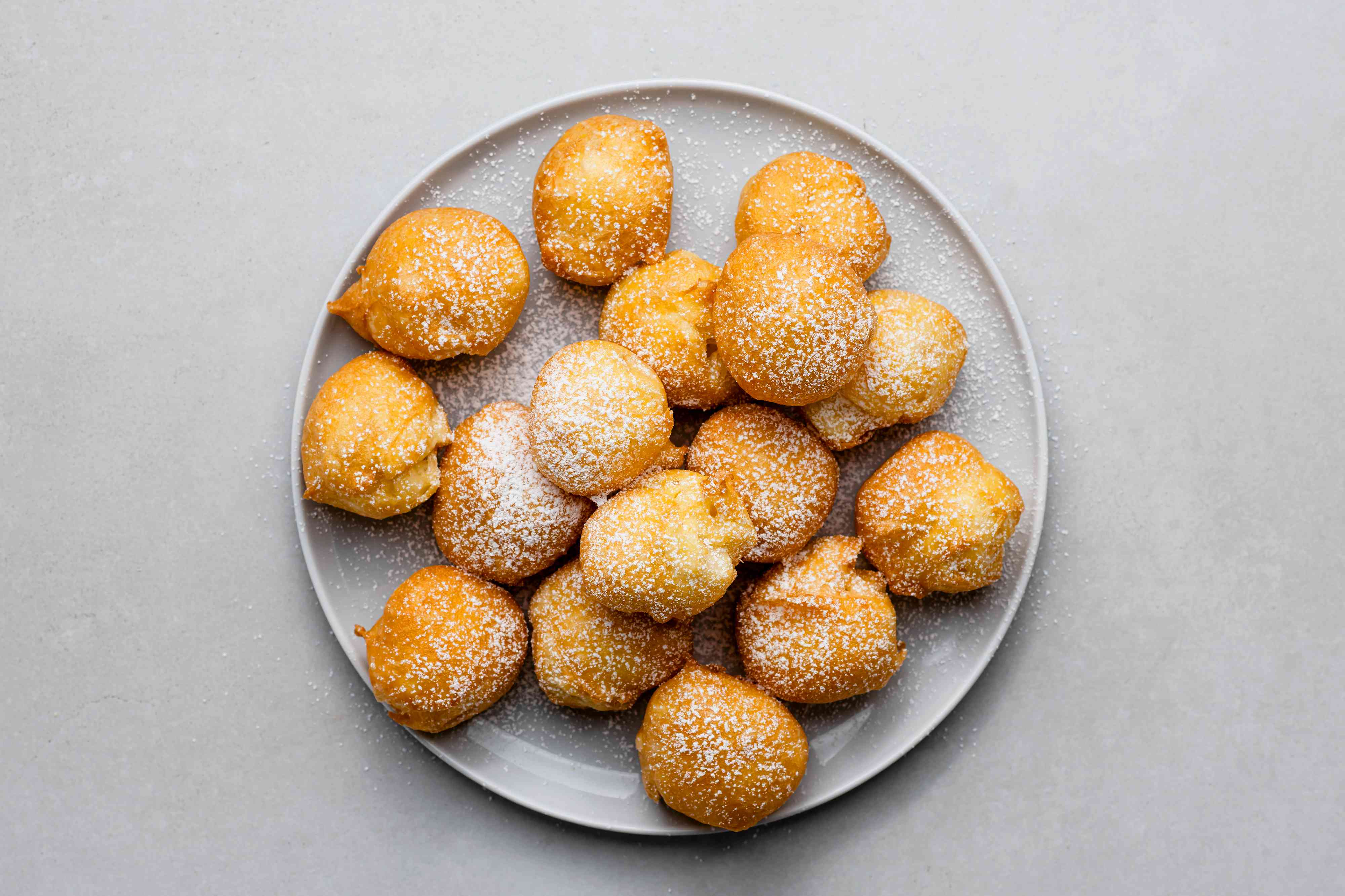 Easy Classic French Beignets on a plate