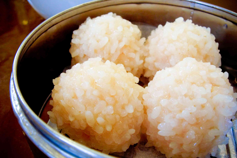 Pearl Rice Balls