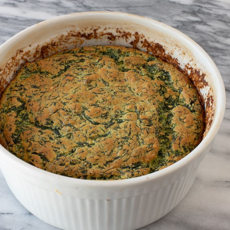 Spinach Souffle Tester Image