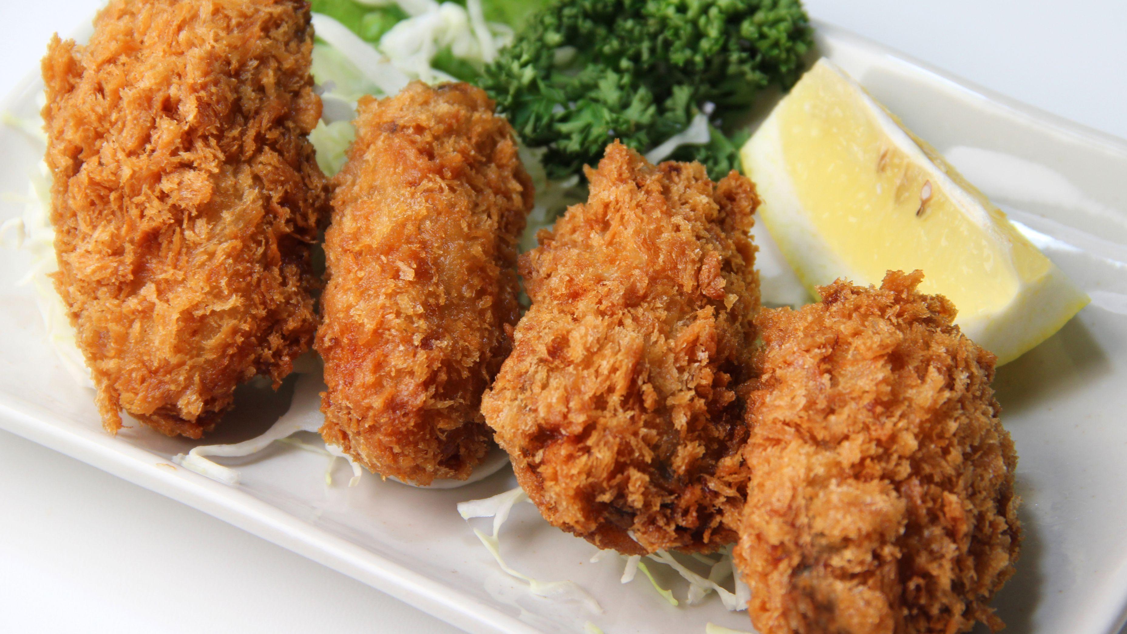 Kaki Fry Japanese Fried Oysters Recipe