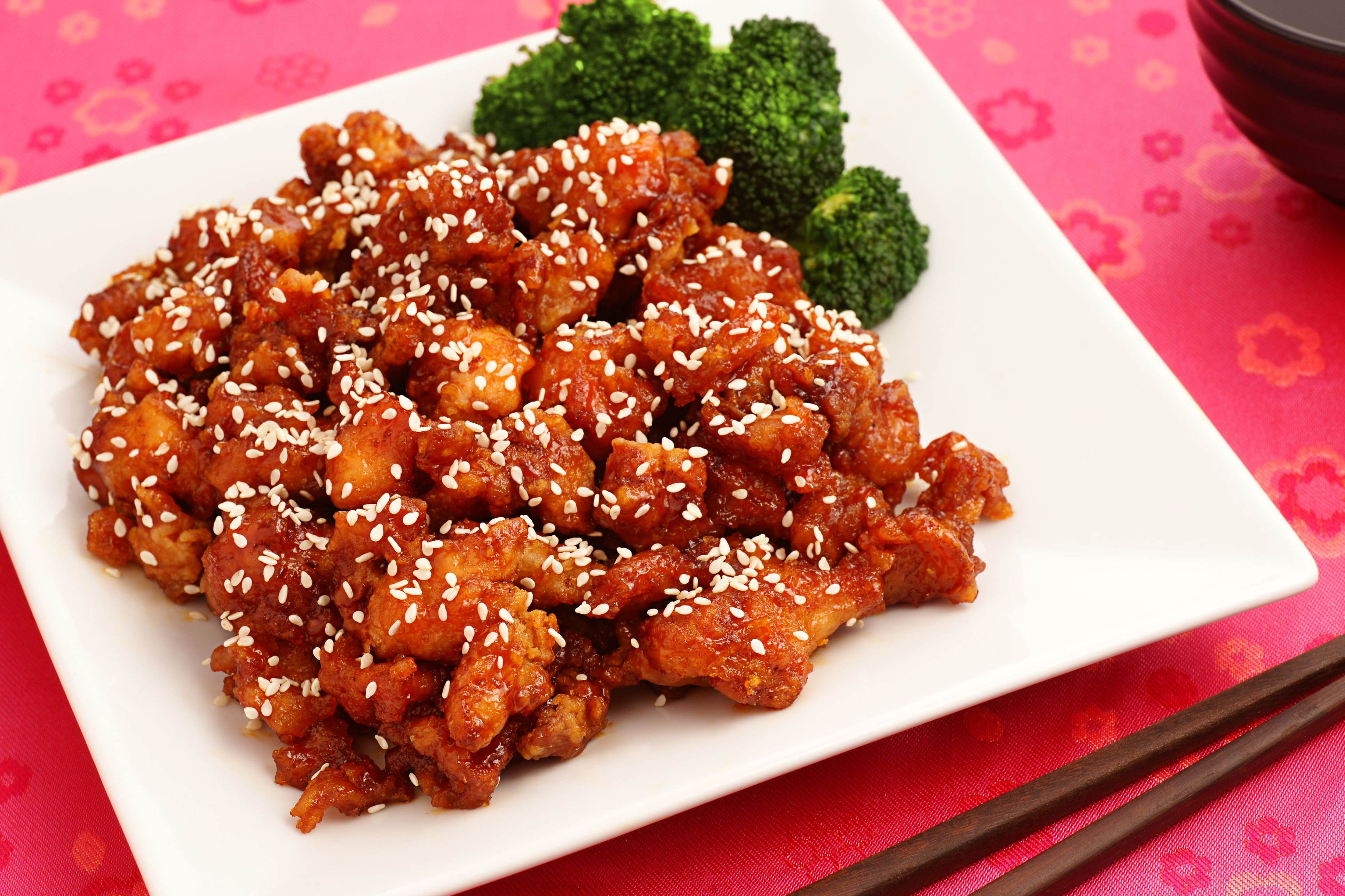 Chinese Sesame Chicken With Garlic And Chili Paste Recipe