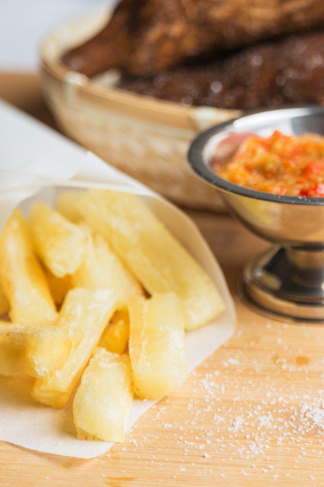 Crispy Yuga Fries