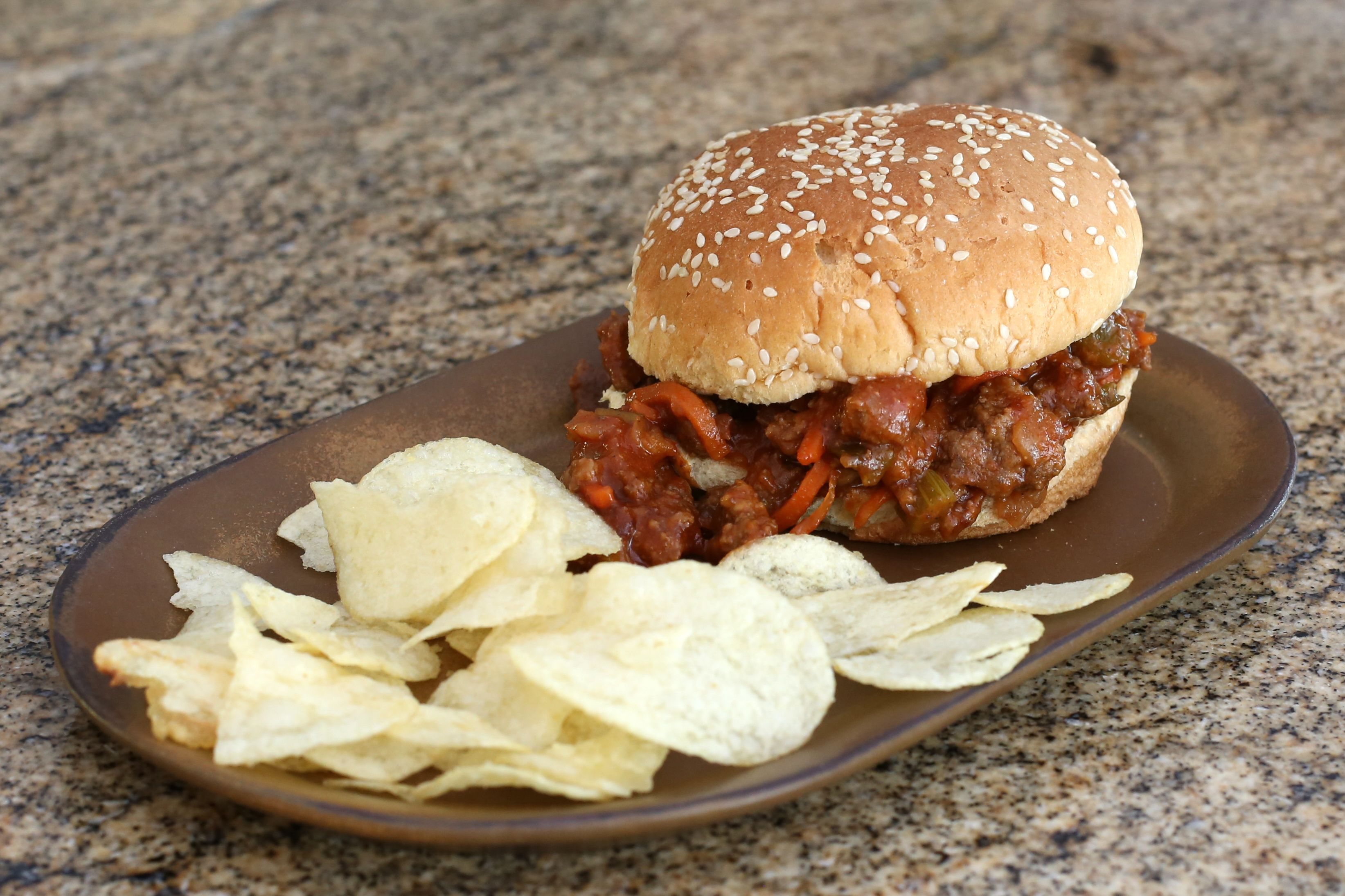 Barbecue Sloppy Joes, Slow Cooker