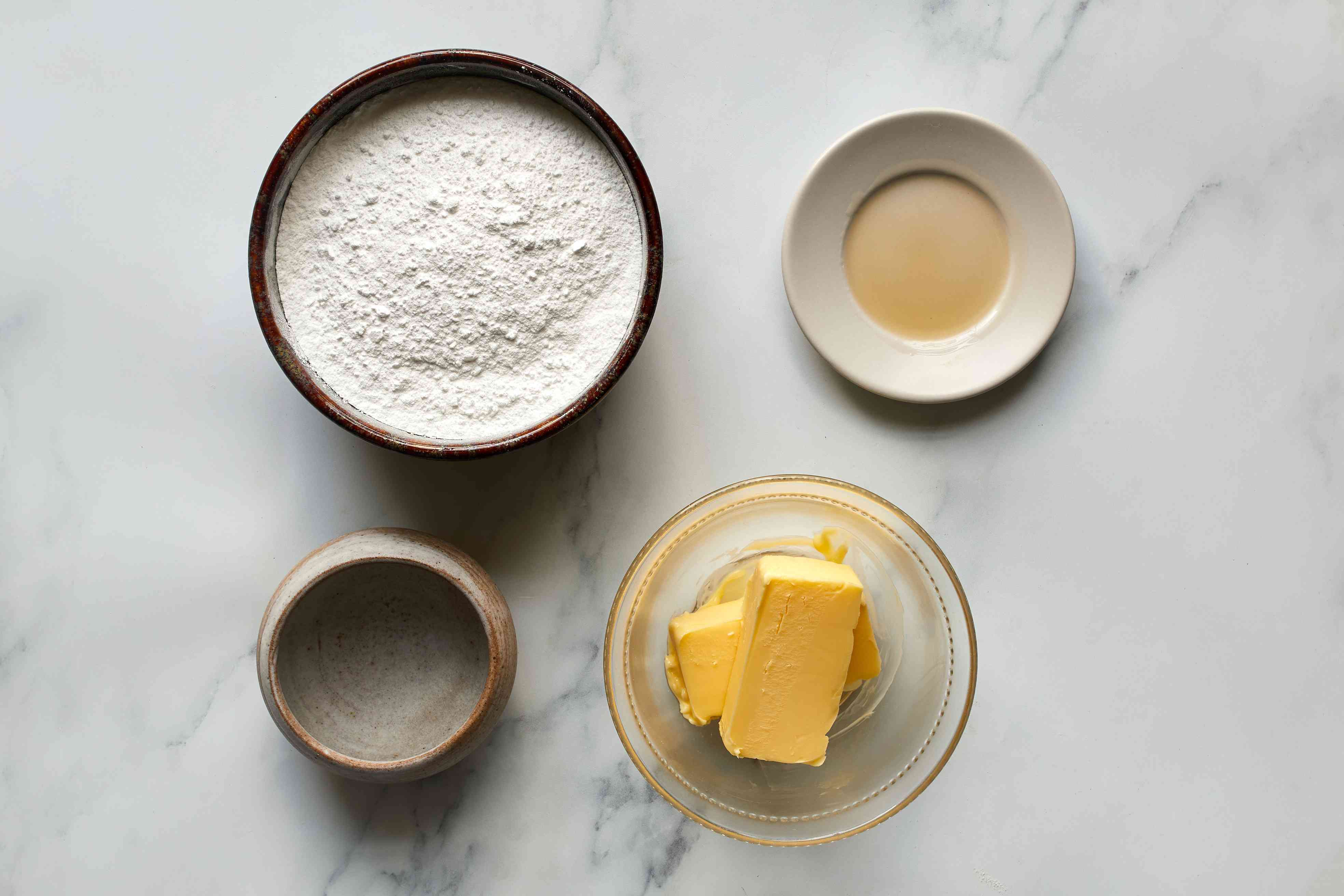 Brown Butter Icing ingredients