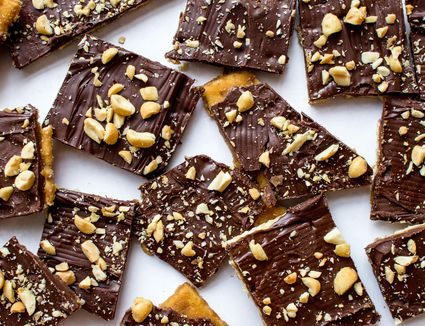 Salty and Sweet Saltine Toffee