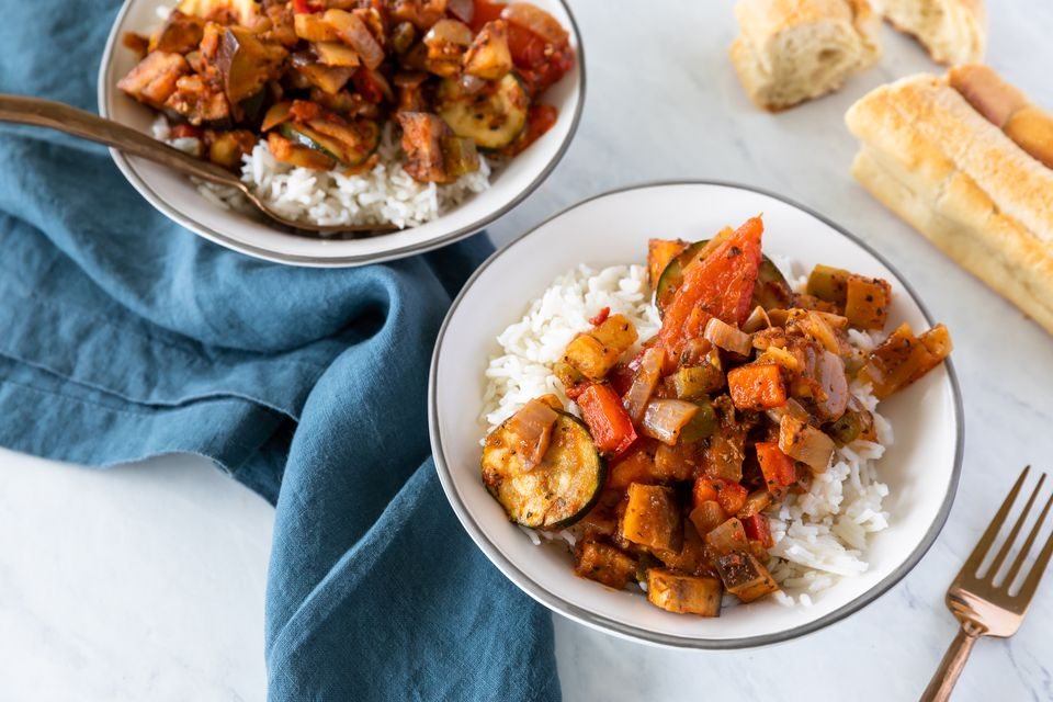 Easy vegan ratatouille recipe