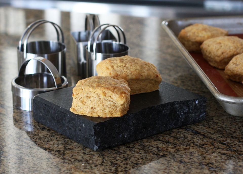 sweet potato biscuits and biscuit cutters