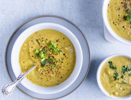 Leftover-Vegetable Soup