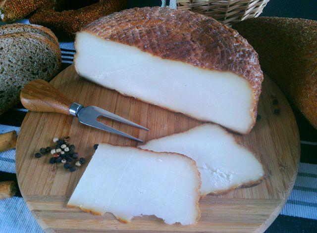 Turkish Smoked Cheese