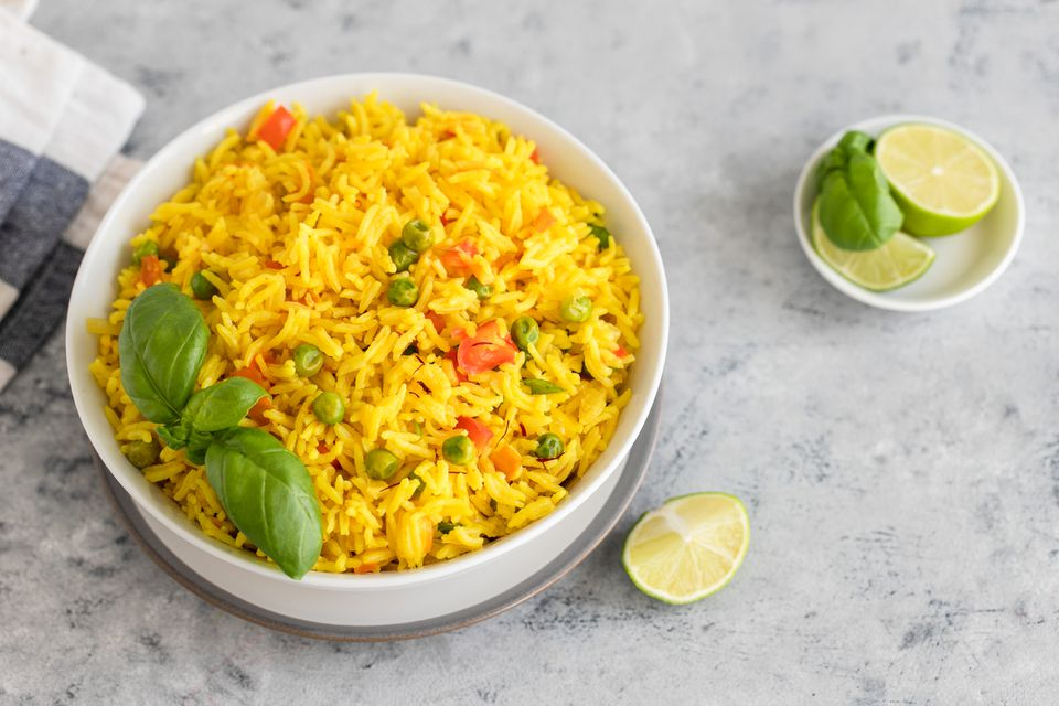 Easy yellow rice