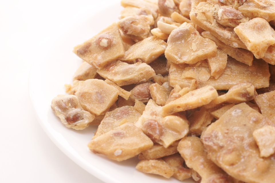 Peanut brittle photo by Donald Erickson / Getty Images