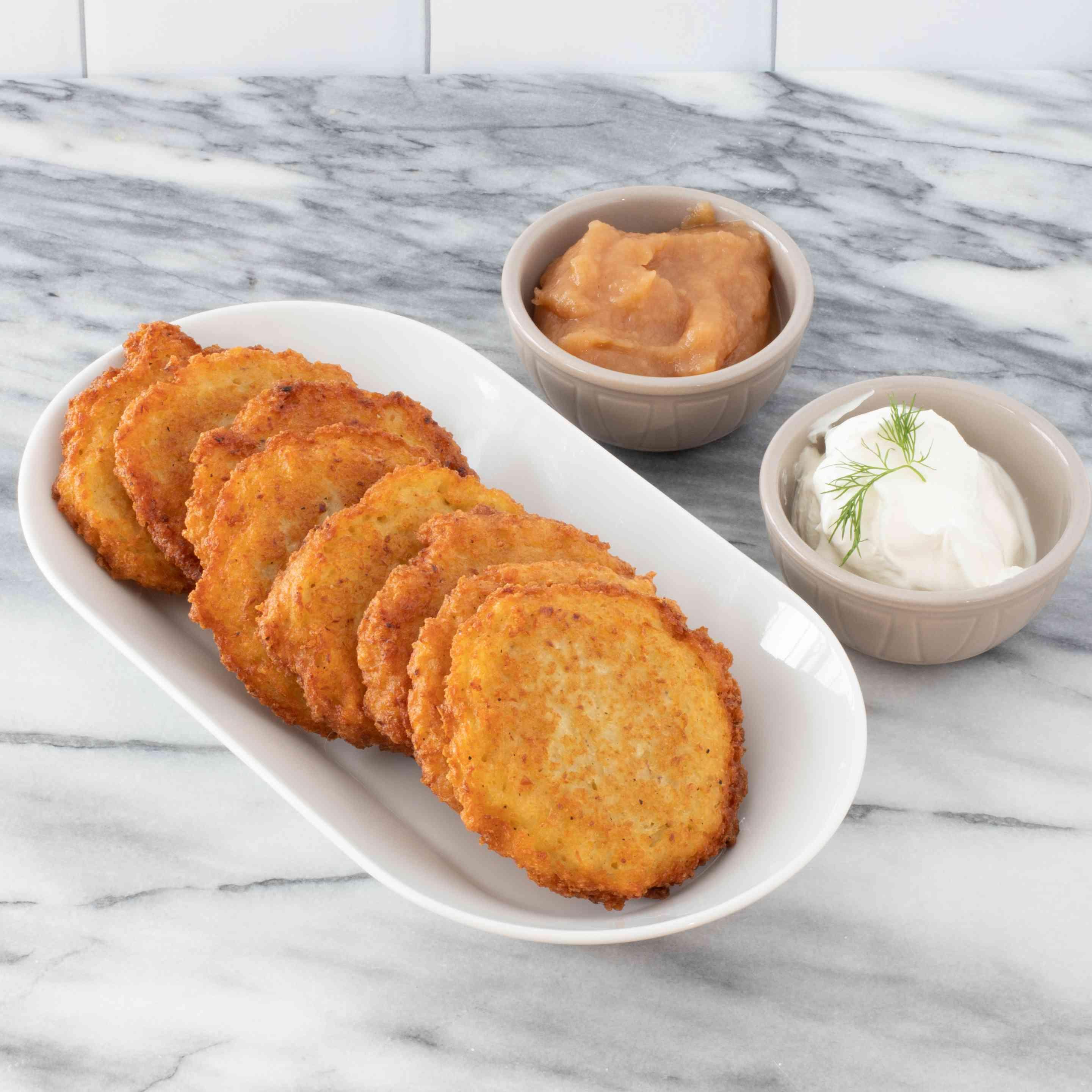 Traditional Hanukkah Potato Latkes Tester Image