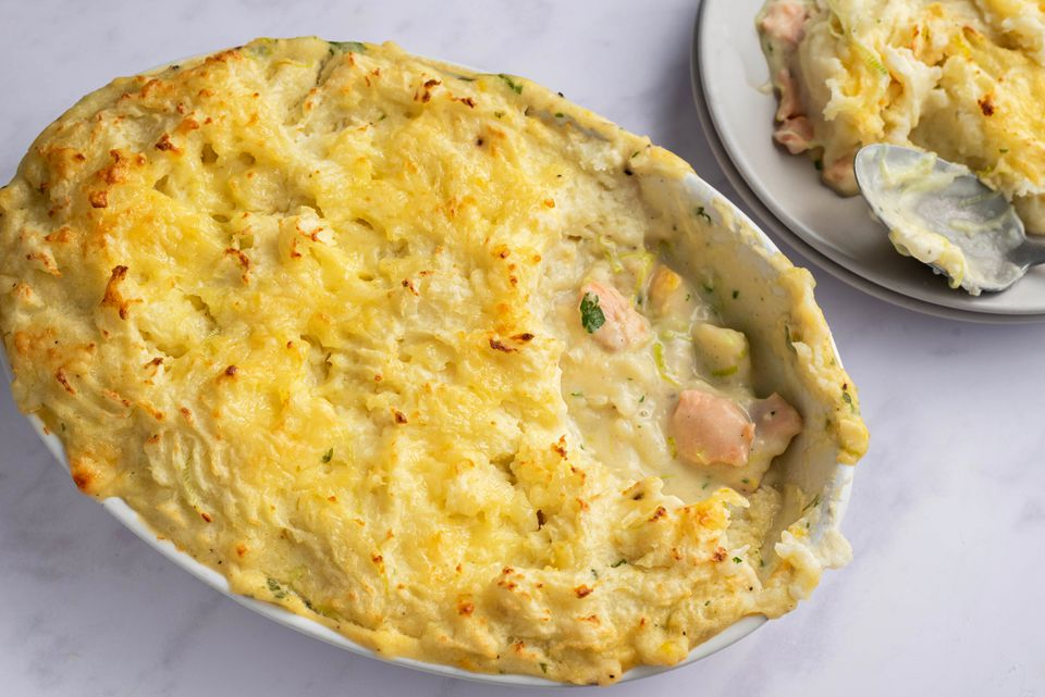 Easy British Fish Pie