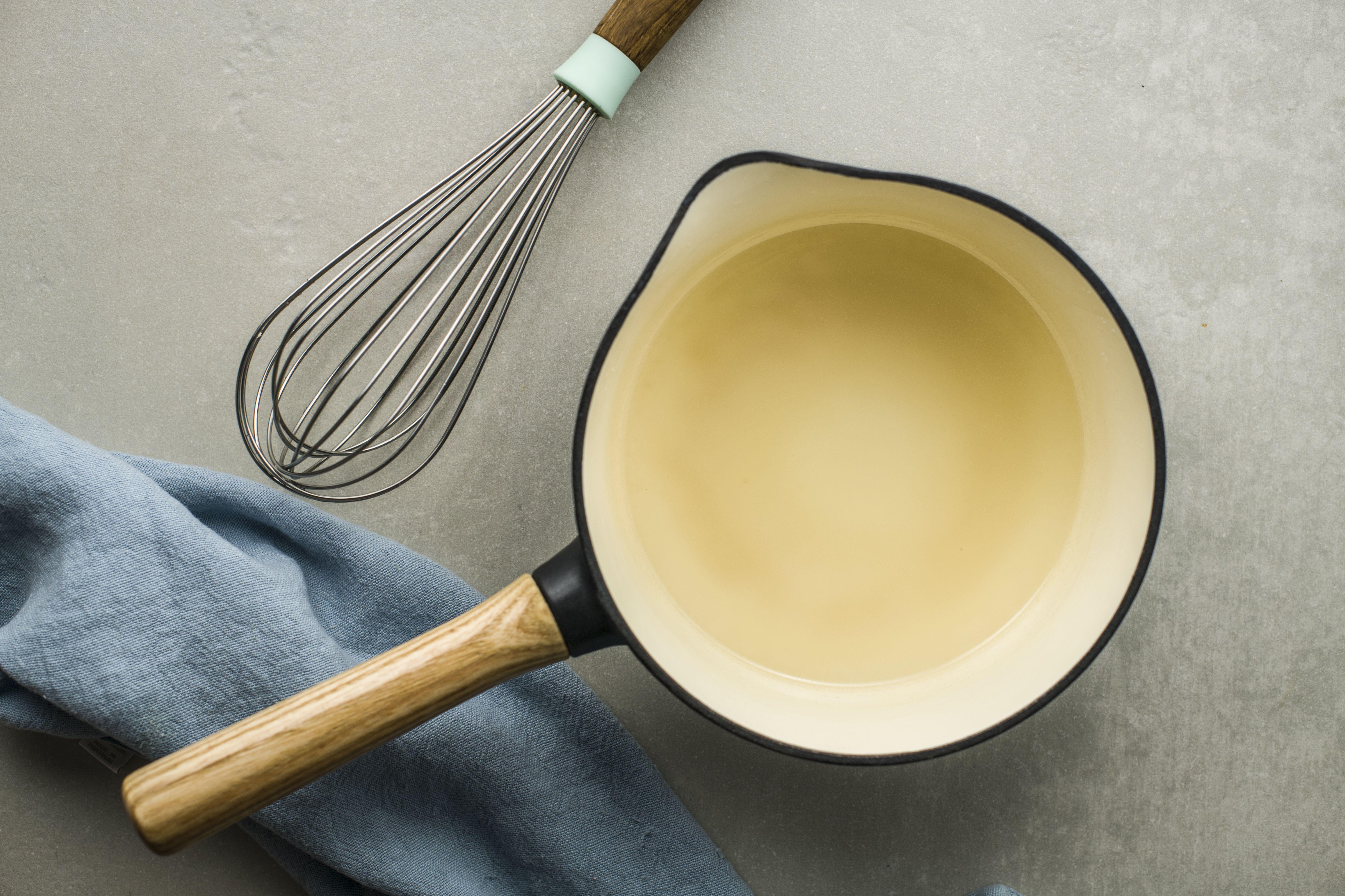 Stir until mixture is thick