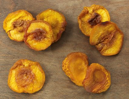 Dehydrated Peaches