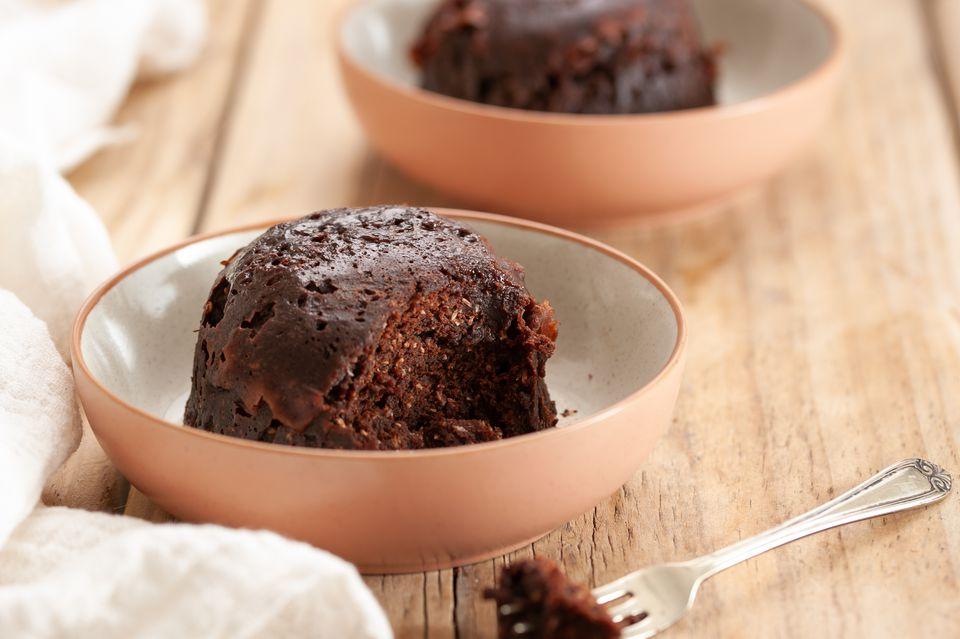 Chocolate coconut mug cake