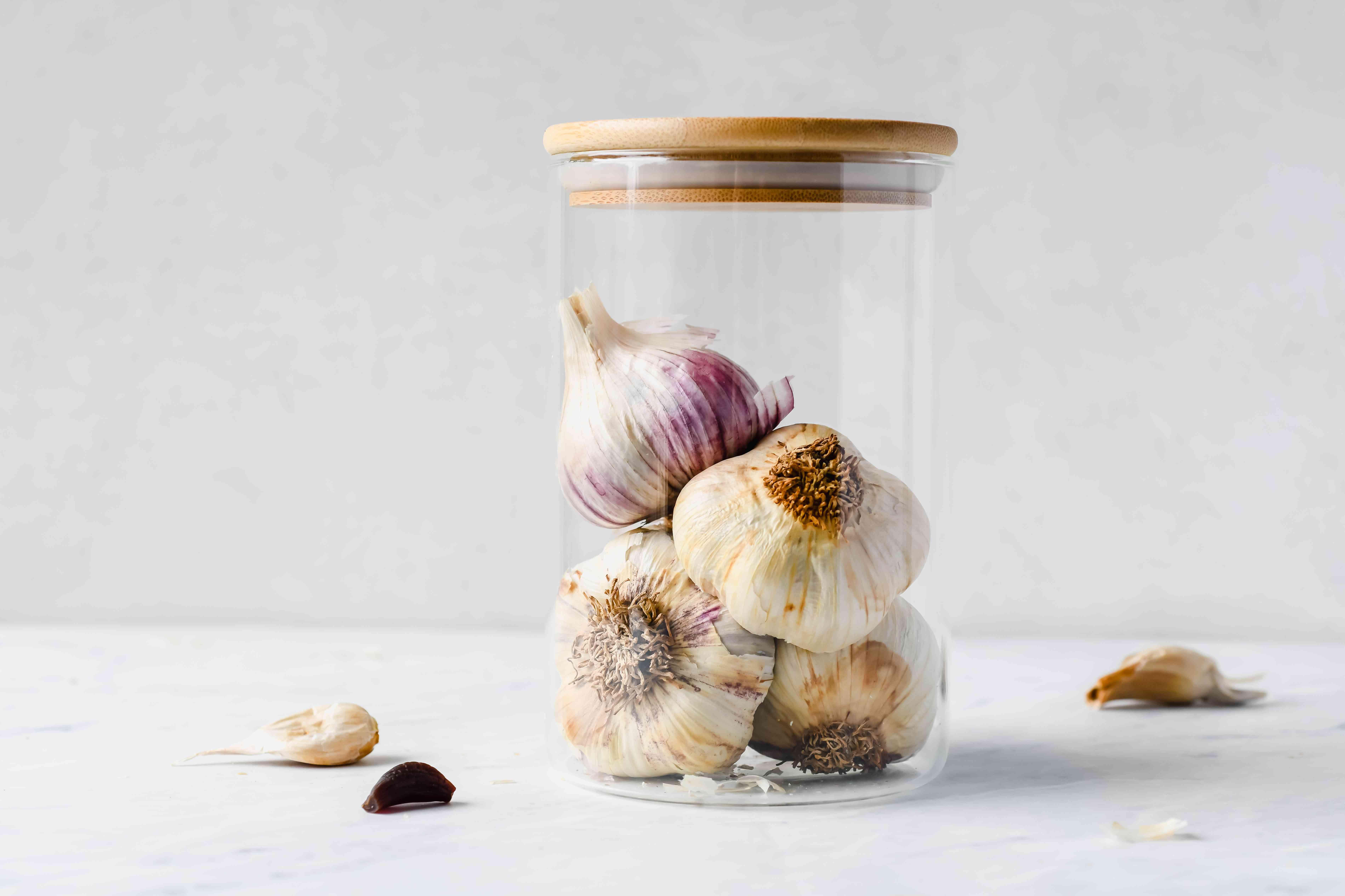 Black Garlic in a jar