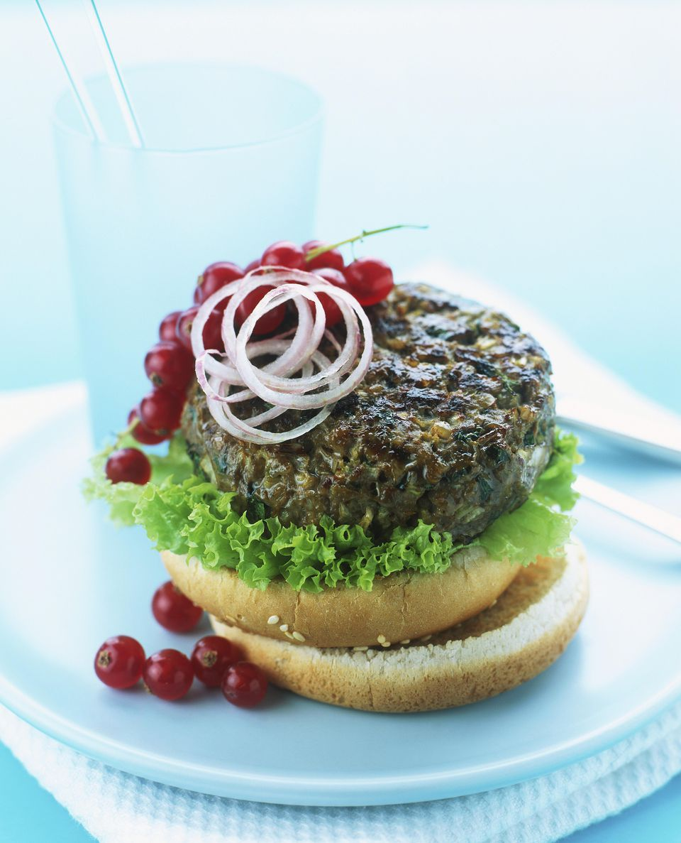 Spicy Grilled Elk Burgers