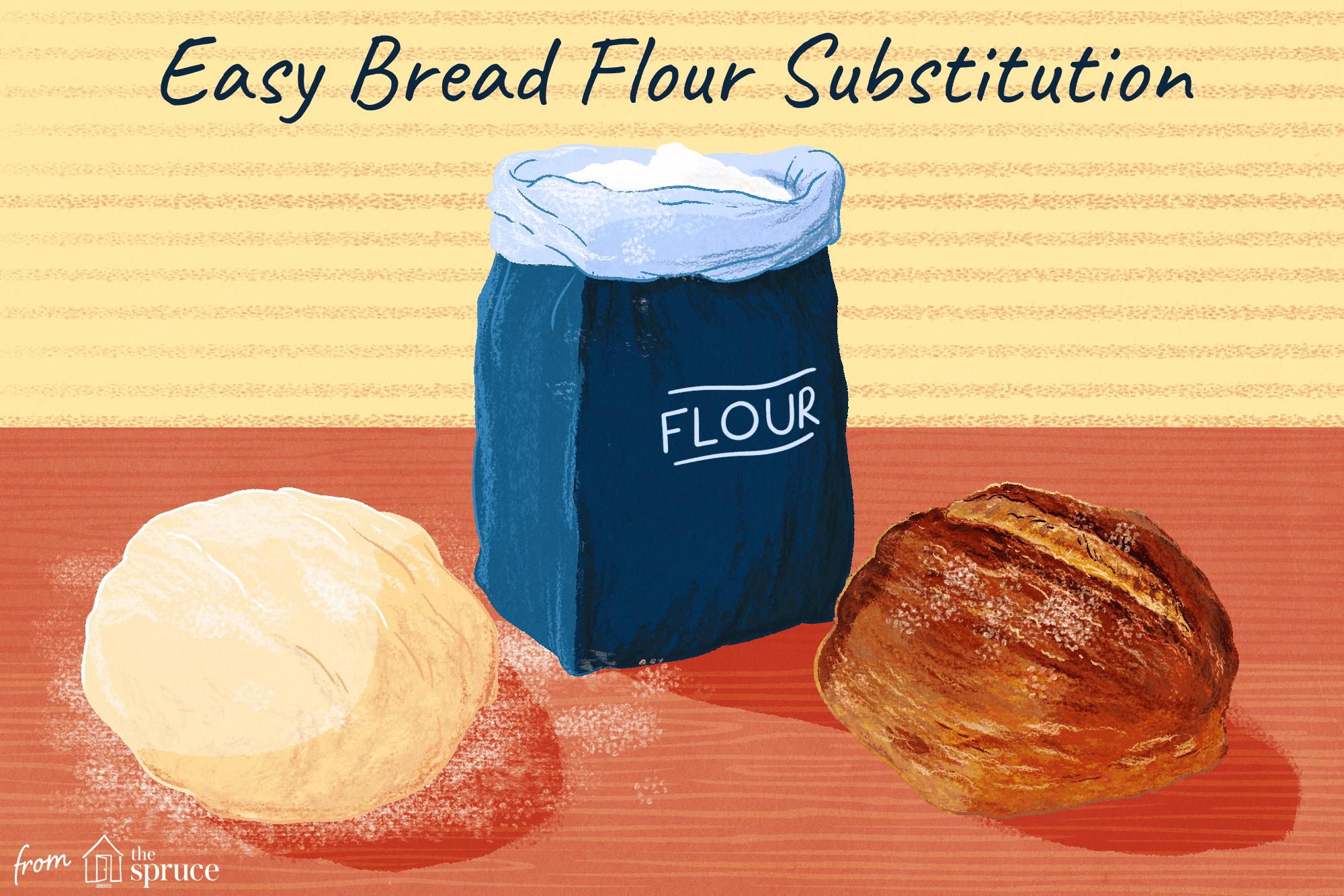 bread flour sub iillustration