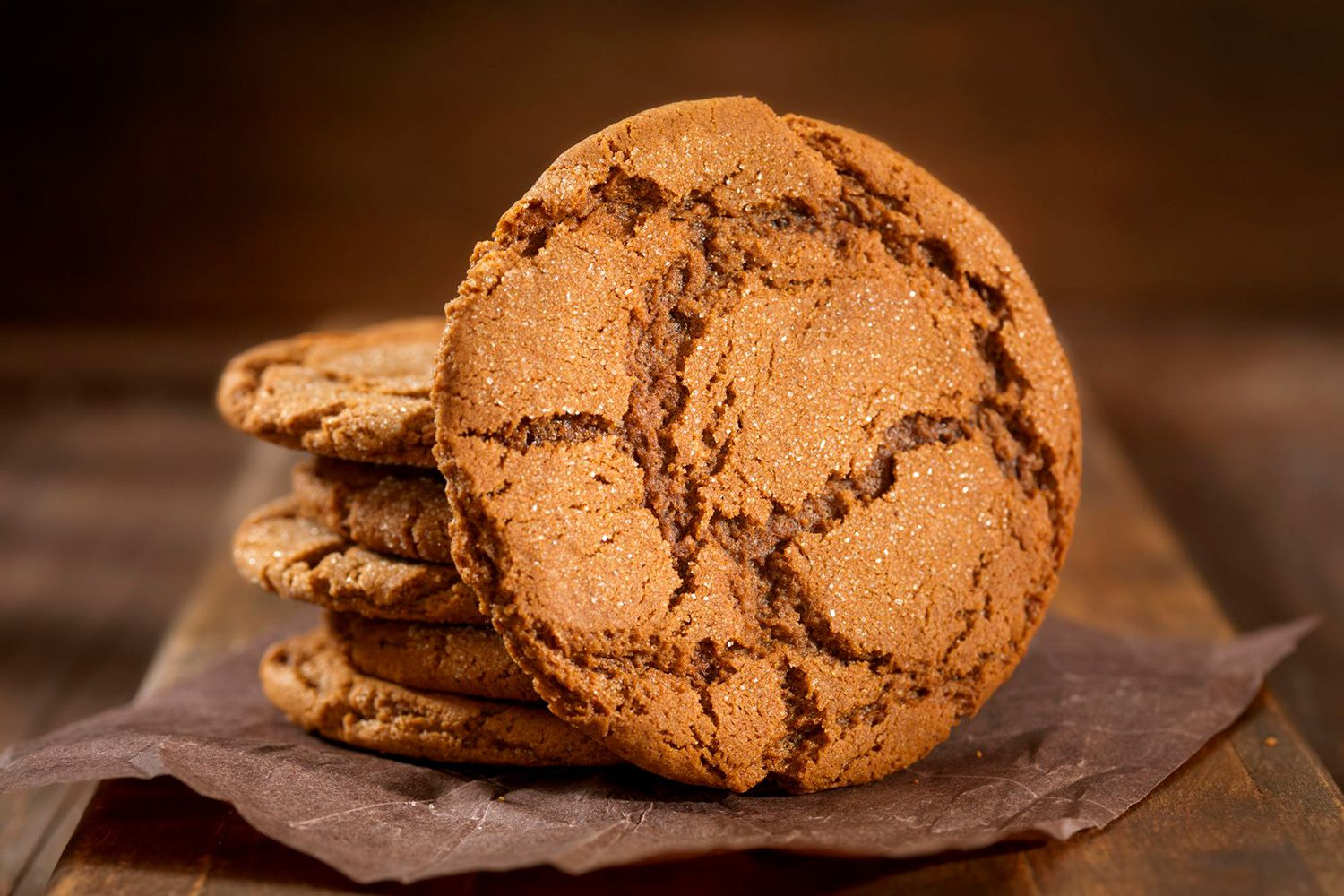Old-Fashioned Ginger Snaps