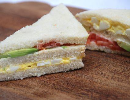 Peruvian-style Triple Sandwich