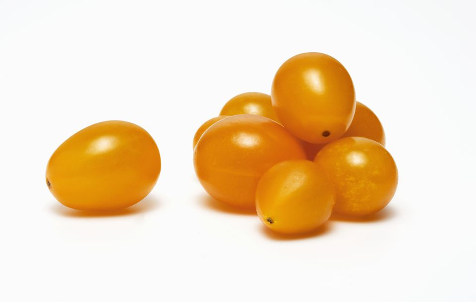 Yellow Teardrop Tomatoes