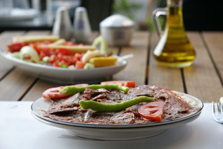 Make Turkish Iskender Kebab