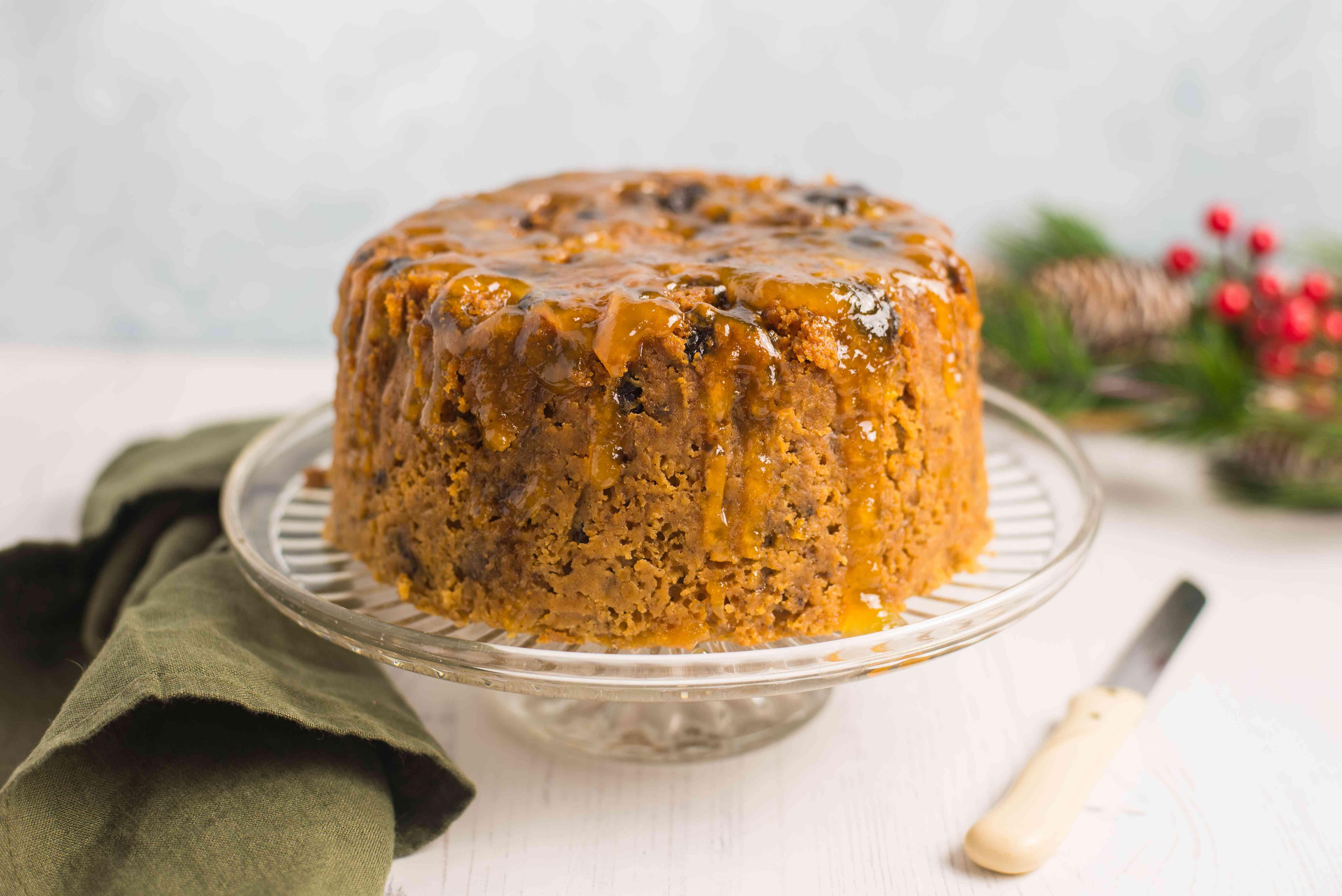 Crockpot steamed fruitcake recipe