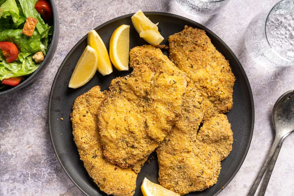 Simple Oven-Fried Tilapia