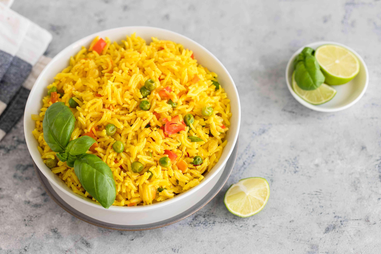 Easy yellow rice recipe