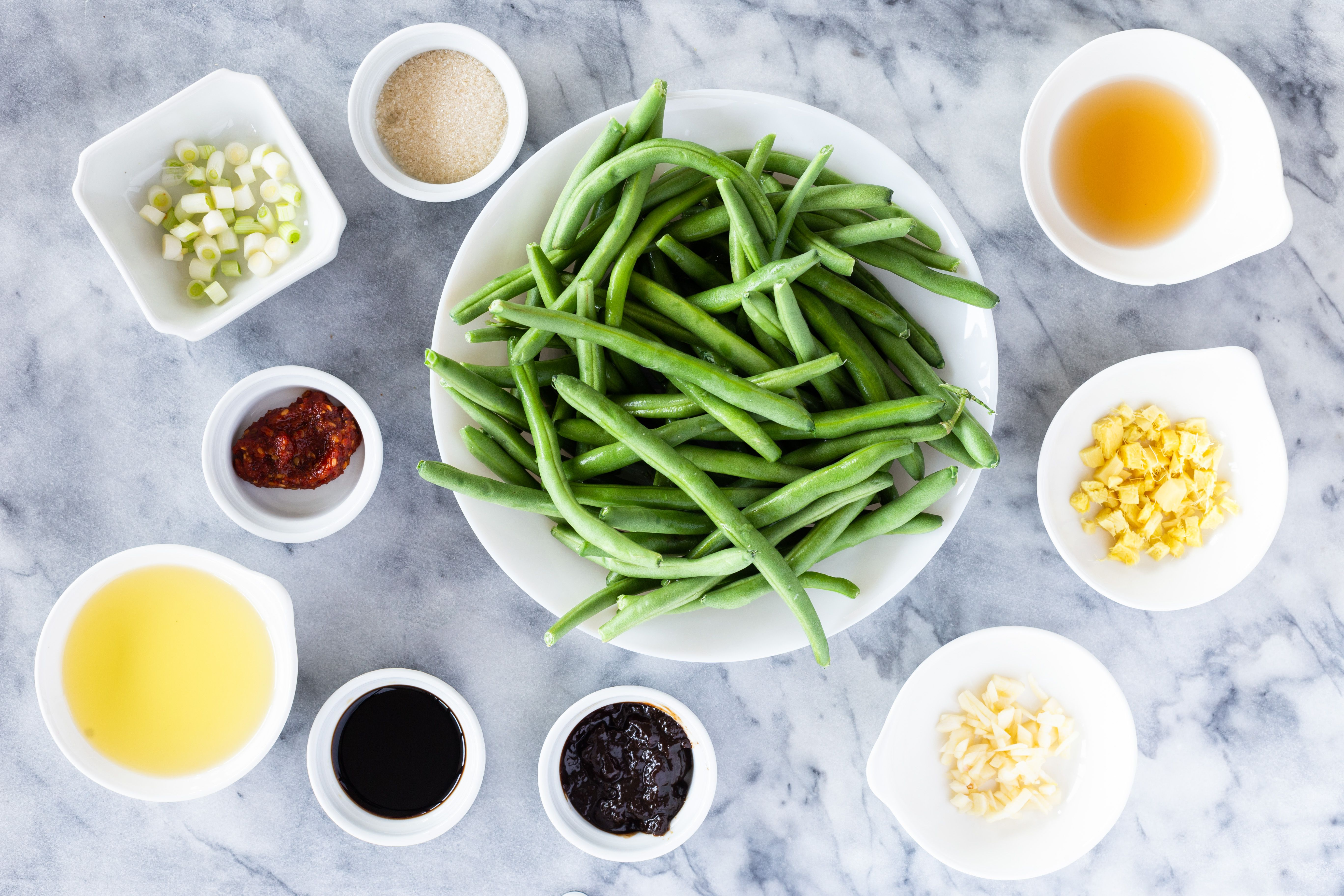Chinese Green Beans Recipe ingredients