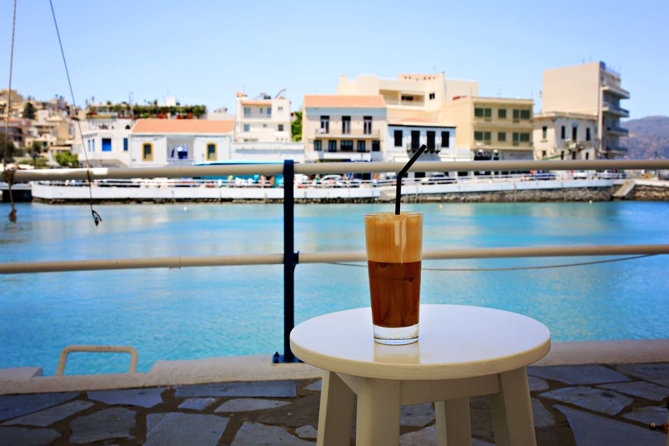 Greek Frappe Iced Coffee