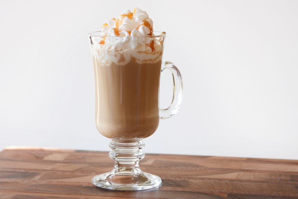 Caramel Irish Coffee With Baileys Irish Cream