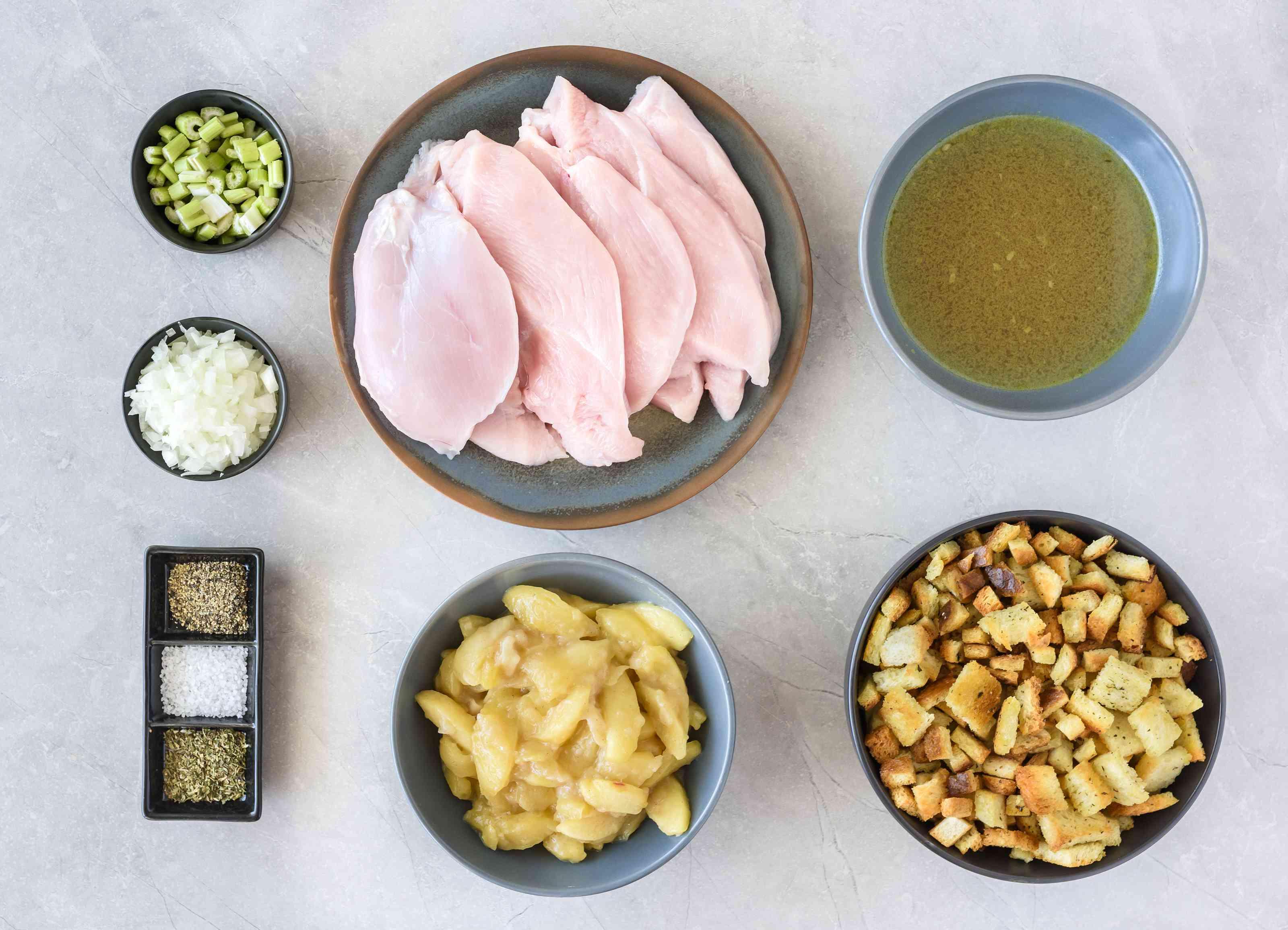 Ingredients for crockpot turkey cutlets recipe