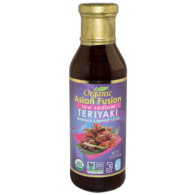 Asian Fusion Low Sodium Teriyaki Sauce