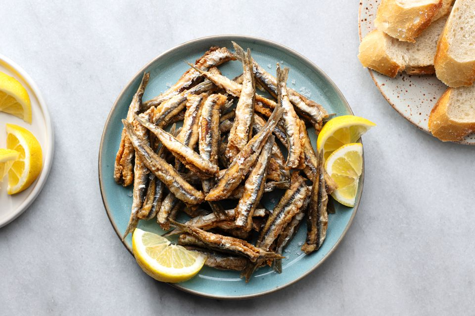 Spanish Style Fried Anchovies