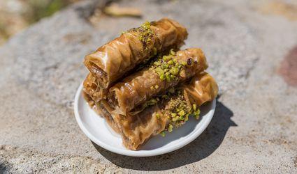rolled baklava