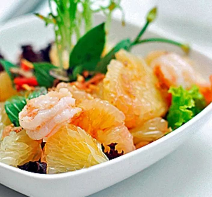Thai Grapefruit Salad With Shrimp
